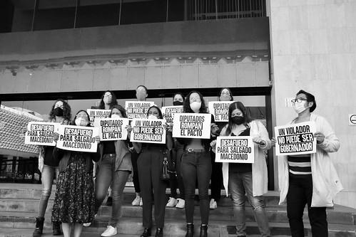#UnVioladorNoSeráGobernador | Desafuero contra Salgado Macedonio 2021.02.19
