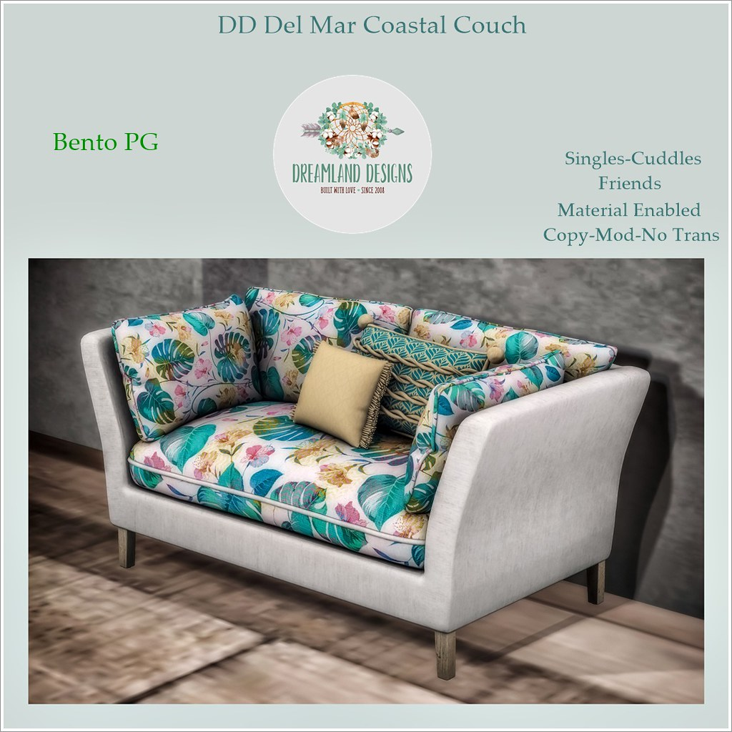 DD Del Mar Coastal Couch PG AD