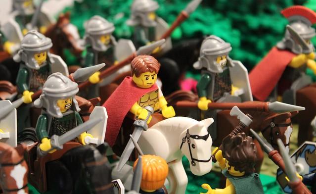Caesar and his Cavalry
