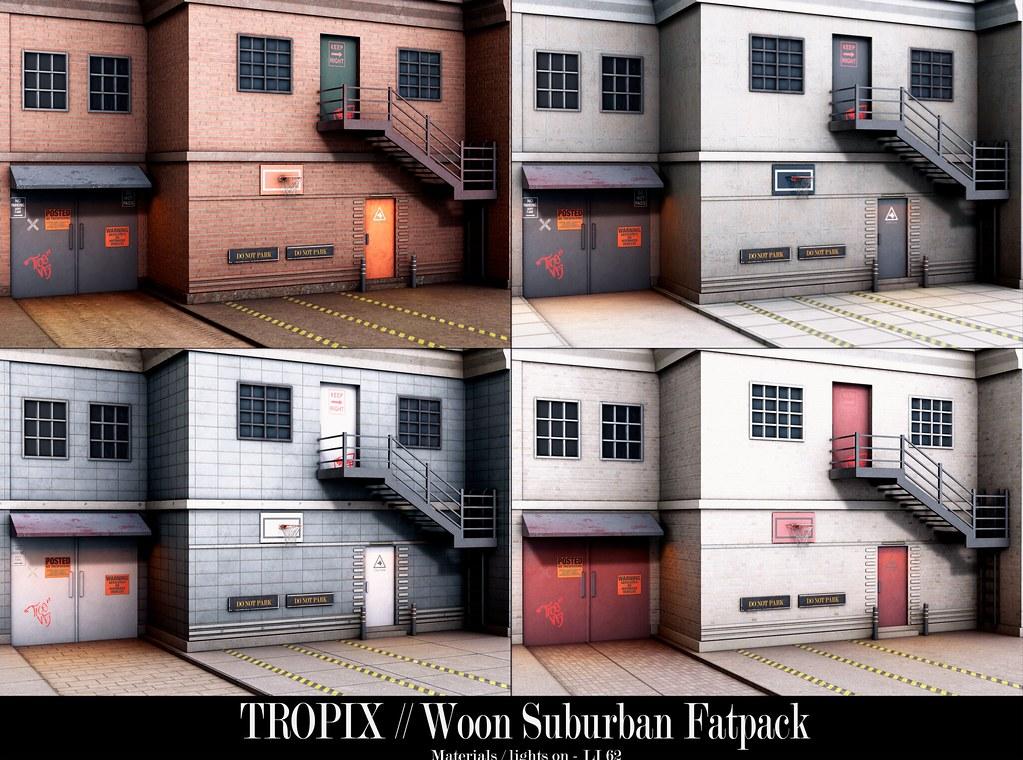 TROPIX // Woon Suburban – Backdrop – Fatpack
