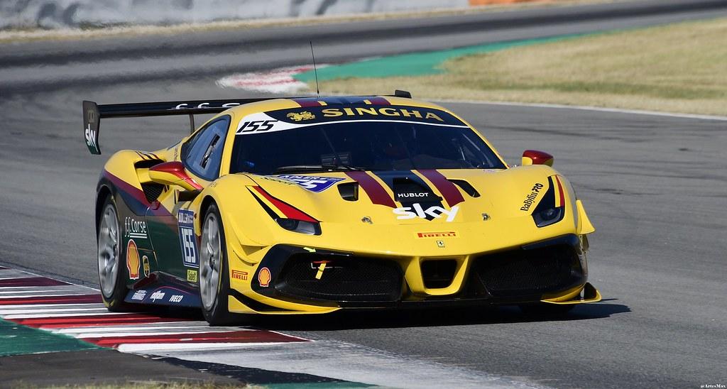 Ferrari 488 Challenge / Laurent DE MEEUS / BEL / HR Owen