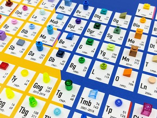 LEGO Periodic Table of Colours Review | by BricksFanz.com