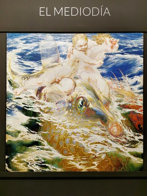 pintura El Mediodia Poema del mar museo Nestor Las Palmas de Gran Canaria