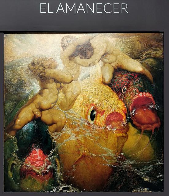 pintura El Amanecer Poema del mar museo Nestor Las Palmas de Gran Canaria