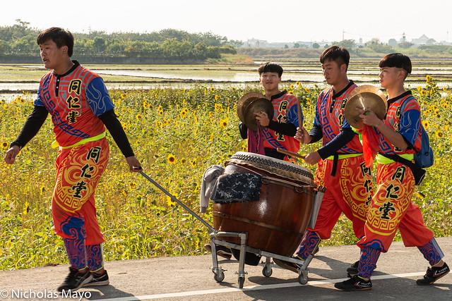 In The Temple Festival Procession