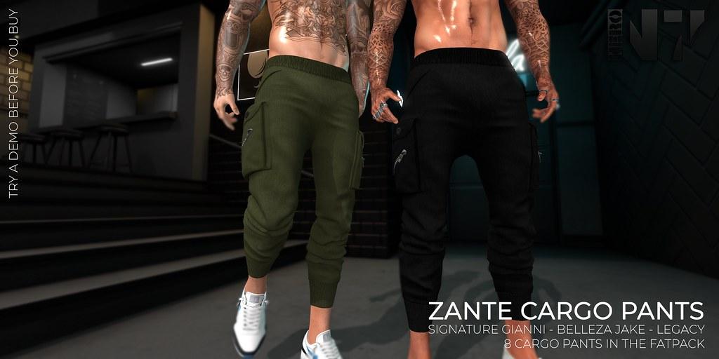 NERO - ZANTE CARGO PANTS
