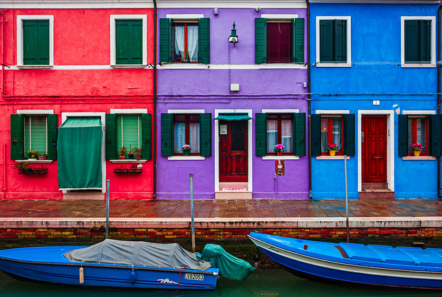 Three in Burano