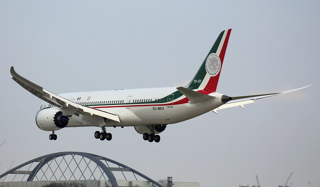 Mexican Air Force, XC-MEX,MSN 40695,Boeing 787-8, 12.04.2016,HAM-EDDH, Hamburg