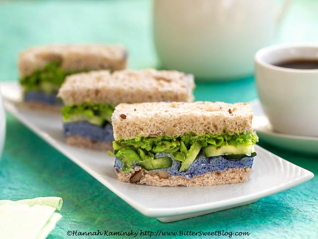 Pea Tea Sandwiches 1