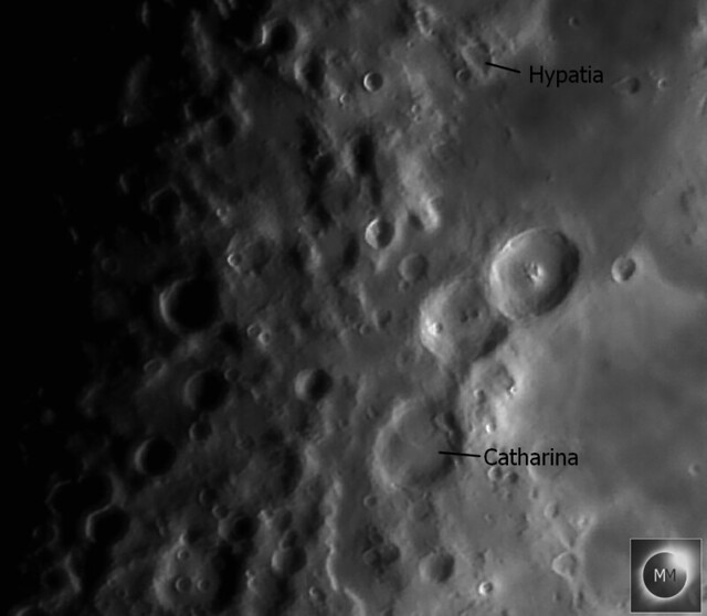 Craters Hypatia & Catharina 18/02/21