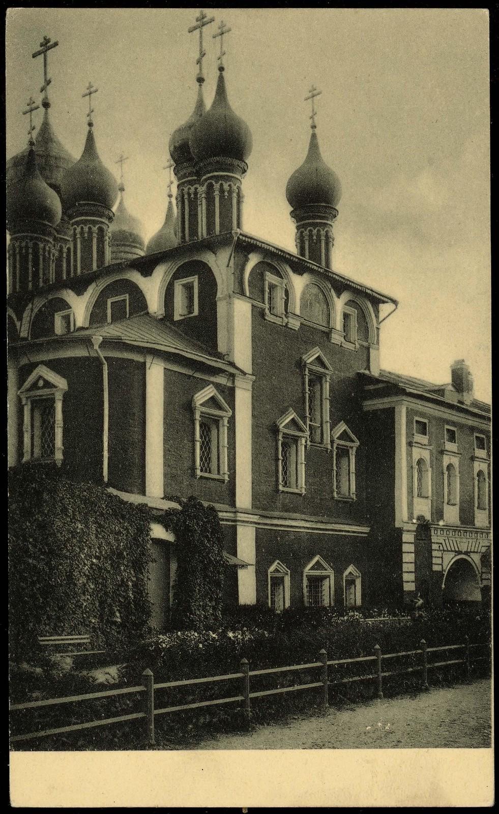 Кремль. Чудов монастырь (собор со двора)