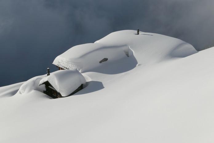 Počasí 2020/21: březnová zima na horách