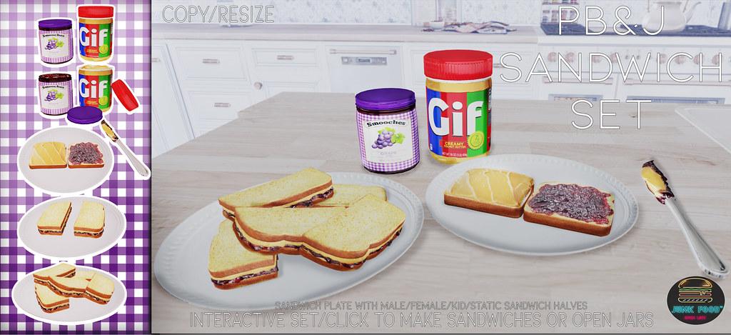 Junk Food – PB& J Set