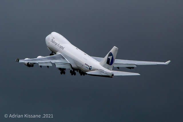 CHALLENGE AIRLINES B747 OO-ACF