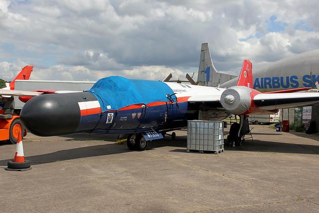 WT333 | English Electric Canberra B.6 | RAE - Royal Aircraft Establishment