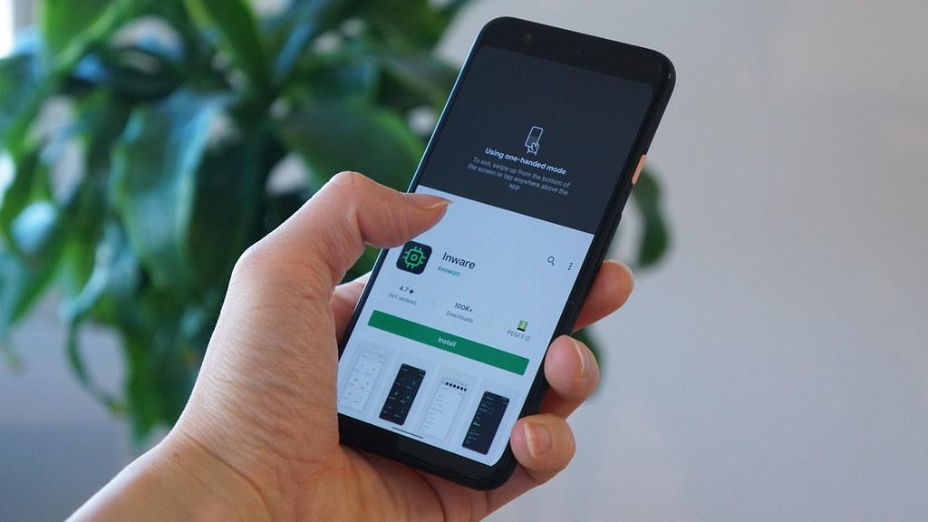 Android 12の片手モードはiPhoneと同じ仕様に