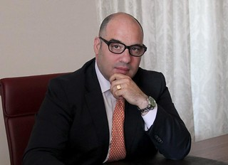 Il presdente Luigi Frascino