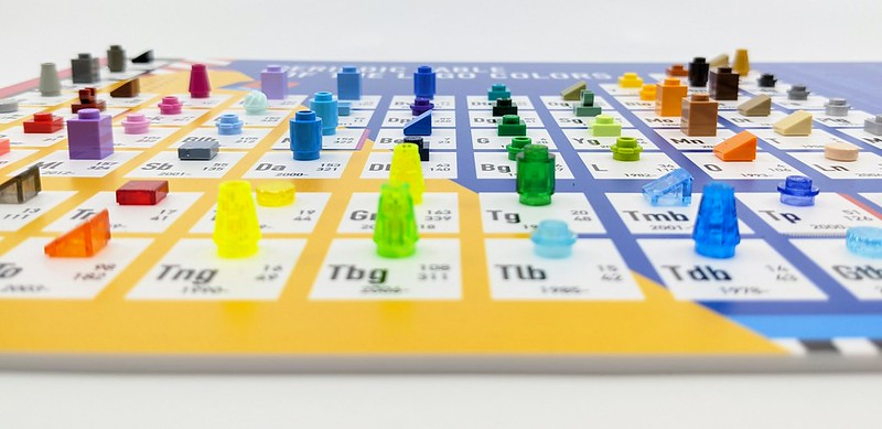 LEGO Periodic Table of Colours Review