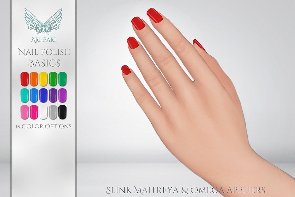 [Ari-Pari] Nail Polish Applier Basics