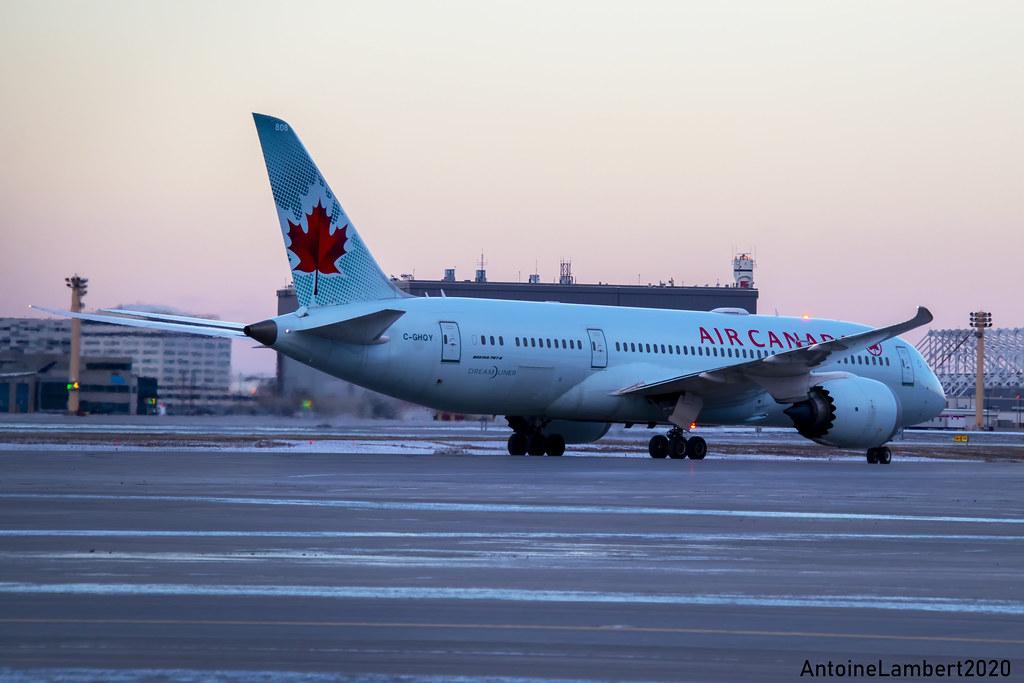 Air Canada Boeing 787-8 Dreamliner C-GHQY YUL