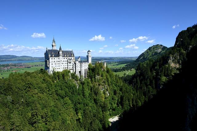 Schloss Neuschwanstein / Bayern (Bavaria)