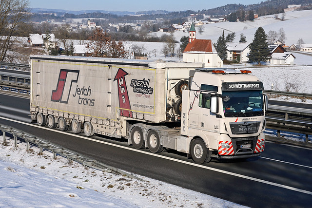 MAN TGX 33.640  Jerich Transport