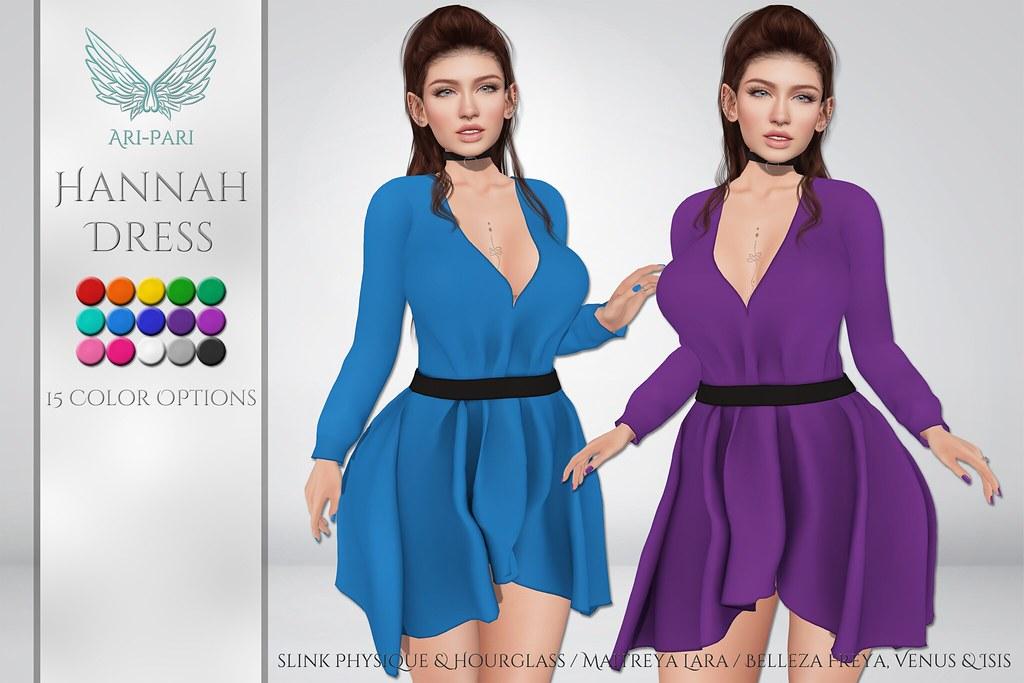 [Ari-Pari] Hannah Dress