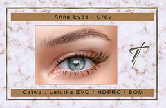 Tville -  Anna Eyes *Grey*