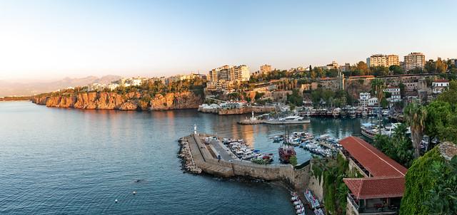 Old Roman Harbour, Antalya, Turkey