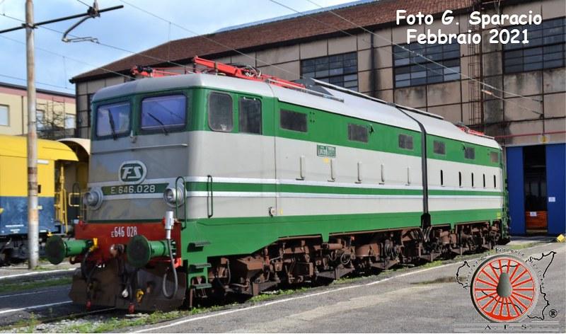 130 - Febbraio 2021 - Cambio di E.646 per i treni storici in Sicilia 50961351003_bb512235ec_c