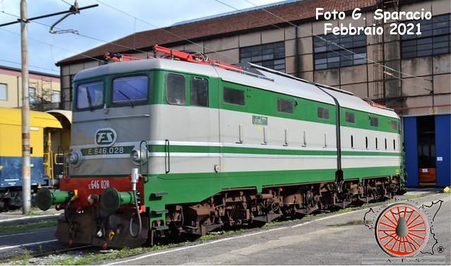 Cambio di E.646 per i treni storici in Sicilia (Foto del Mese n. 130 – Febbraio 2021)