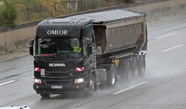 HOM Q 1950 Scania 08-07-2020 (Germany)
