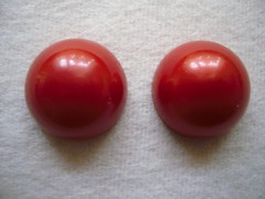 Smart Coloured Stalk End Caps (pair) red