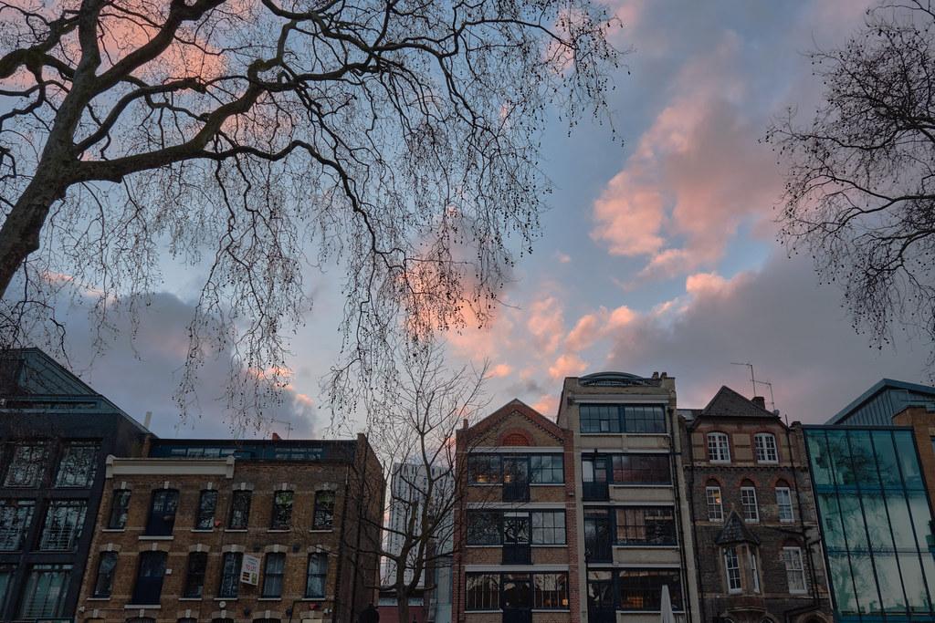 Hoxton dusk