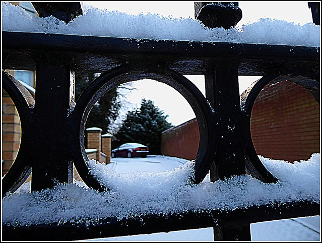 Snow Covered Gate ..