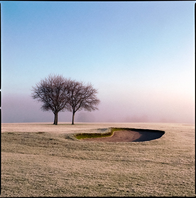 Second Hole Bunker