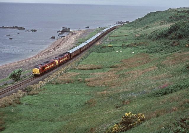 Far North Doubleheader - Class37s