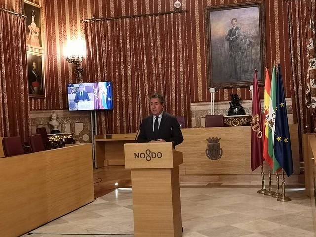Juan Espadas Cejas - Alcalde de Sevilla