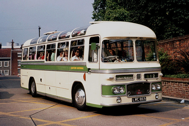 Eastern National Omnibus Company . 364 LWC869 . Colchester Bus Park , Essex . August-1973 .
