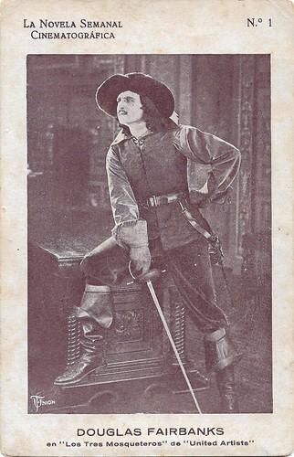 Douglas Fairbanks in The Three Musketeers