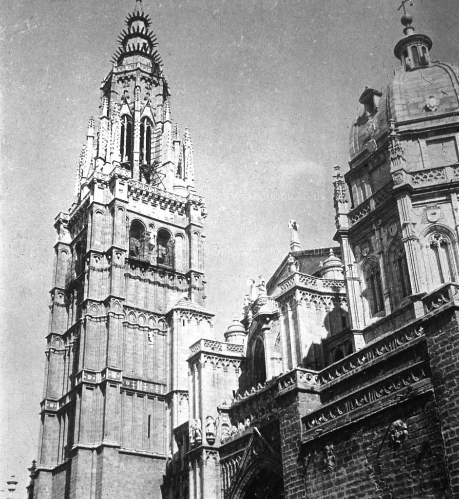 Catedral de Toledo. Fotografía de Francis Rowland Yerbury hacia 1924 © Architectural Association School of Architecture, signatura SPMD356-2