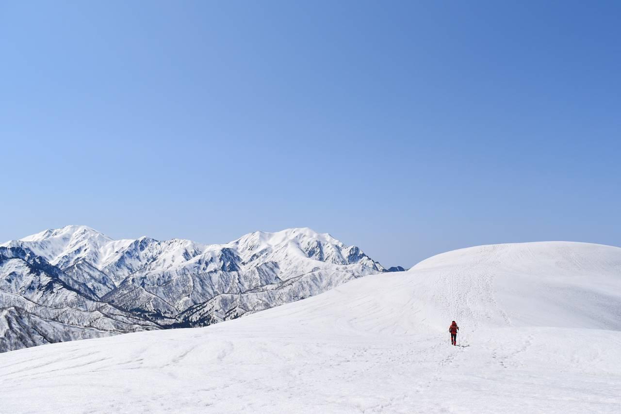 【新潟】日向倉山 残雪期限定の雪山登山