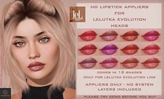 Synergy - Lelutka Lipstick Applier for EVO heads - Bergen ♥