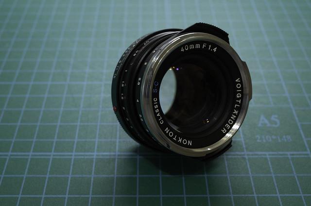 Voigtlander NOKTON Classic 40mm/f1.4