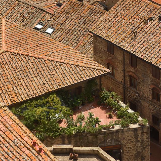 Italy - Tuscany - San Gimignano - Tower view 02_sq_DSC9048