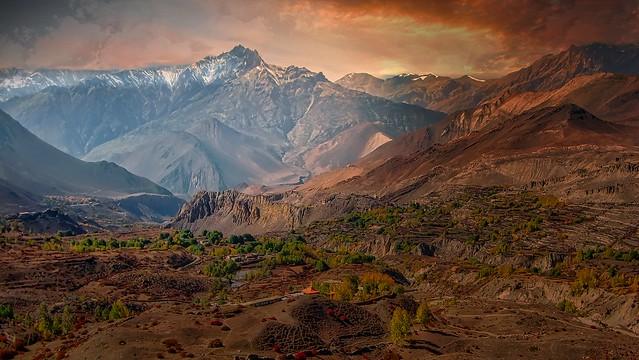 Souvenir des Annapurna Népal