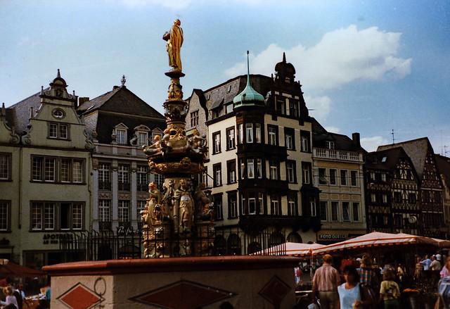 Trier 1987 (17) Hauptmarkt
