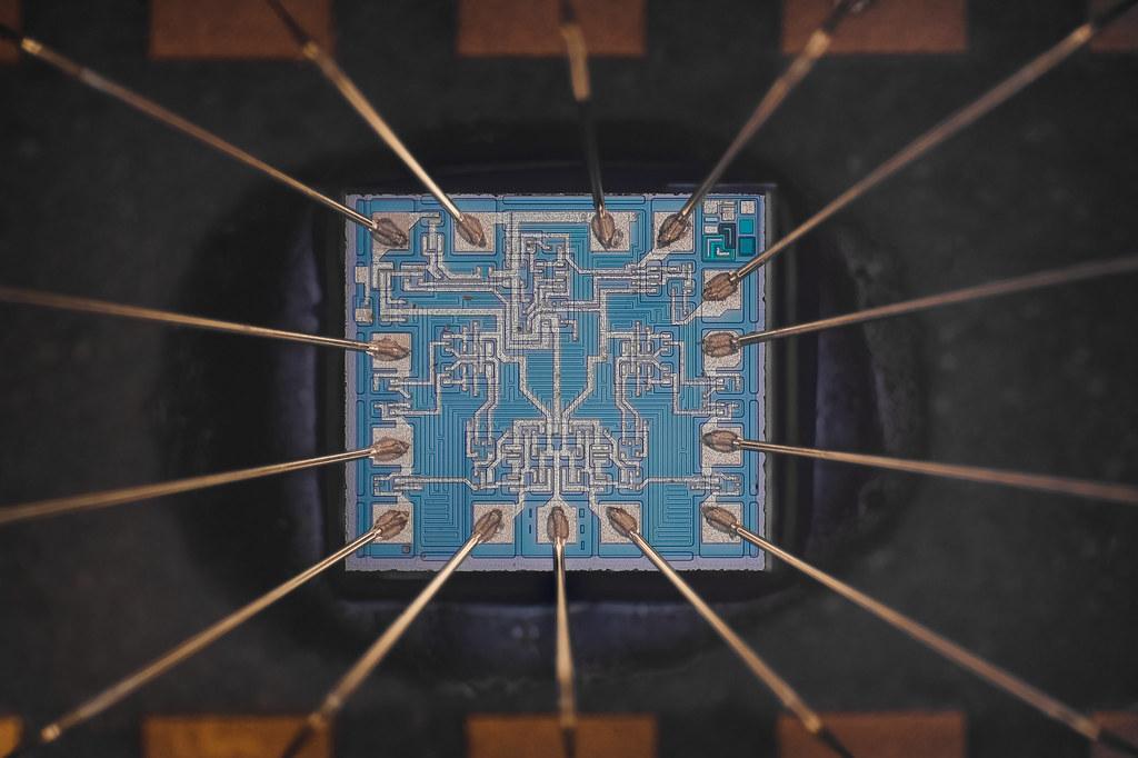 Vintage Microchip КП8