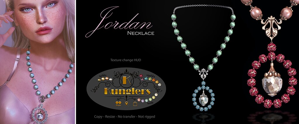KUNGLERS – Jordan necklace