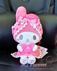 Girl's Talk My Melody plushie